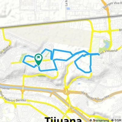 ride from 8:14PM 22 de Agosto