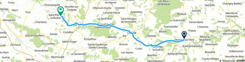 Verneuil sur Avre - La Fresnaie fayel