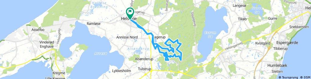 Helsinge Rundt - Mountainbike 35 km