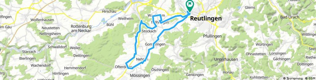 Betzingen - Härten - Mössingen - Betzingen