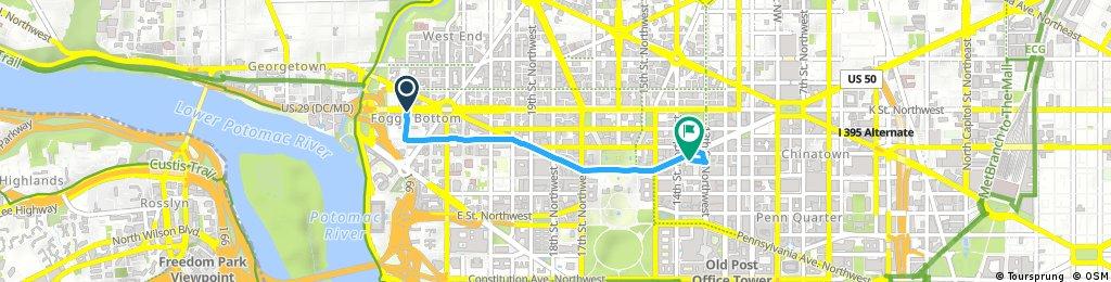 Quick bike tour through Washington