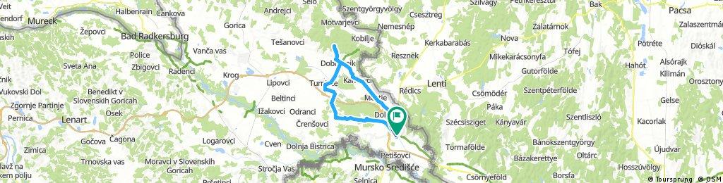 Lengthy bike tour through Lendava z zawodnikami K.S. Limanowa-Swim 23.08.2017