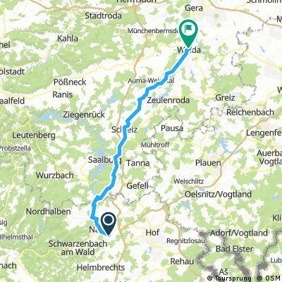 From Selbitz to Frießnitz