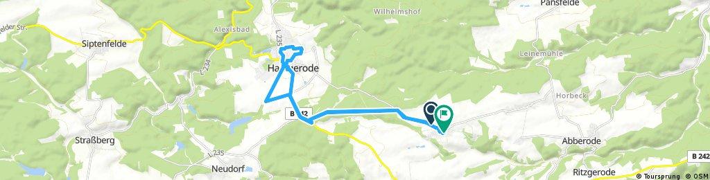 Meine Route am 23.08.17