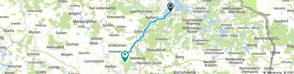 Grosskoschen (Senftenberger See) - Steinbach