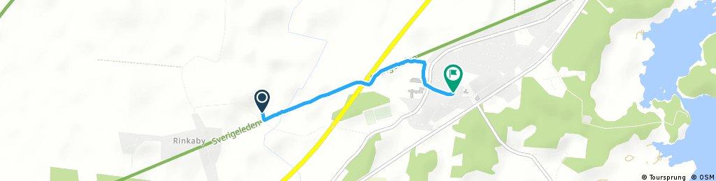 Short bike tour from Ljungbyholm to Kalmar