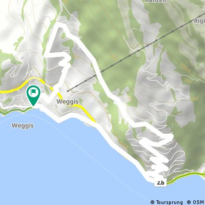 Von Weggis via Riedsort zum Tannenberg