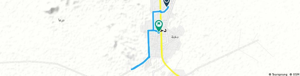 Short bike tour through دخنة