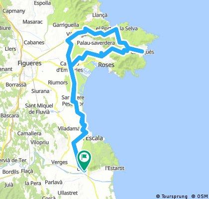 Torroella-Vilajuiga-Port de La Selva-Torroella