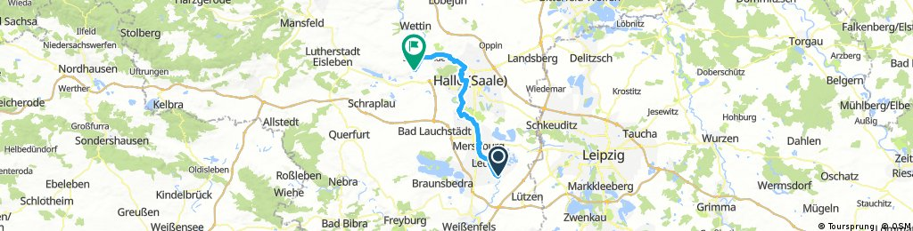 Saaletour3, Bad Dürrenberg-Zappendorf