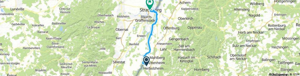 BL18-03 Rheinhausen - Strassburg