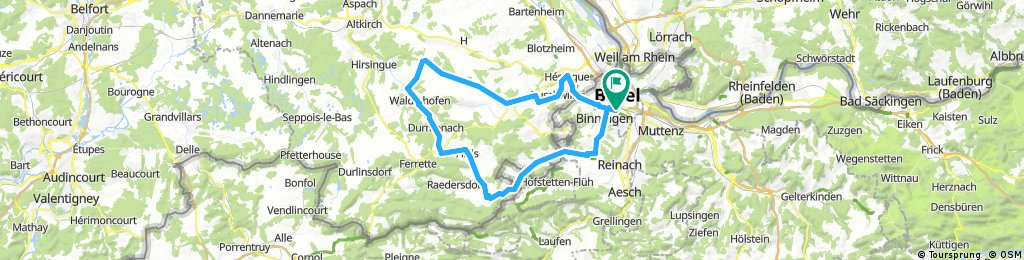 20170824 Wollschwiller-Bouxwiller-Knoeringue-Buschwiller-Allschwil