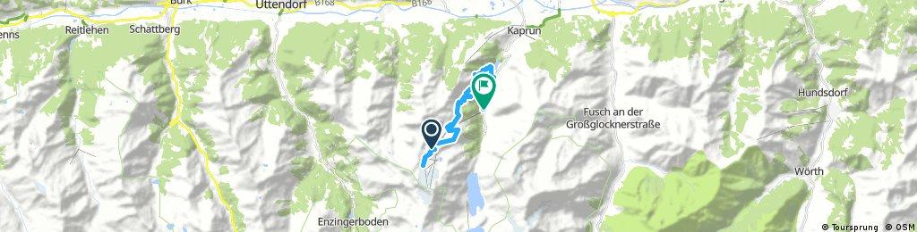 bike tour through Kaprun