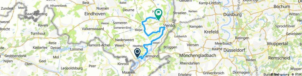 Tourtocht deel 2.2 Start Panheel