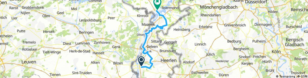 Toertocht deel 1 start Maastricht