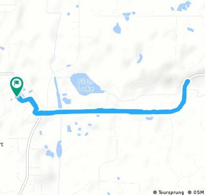 Quick bike tour through White Bear
