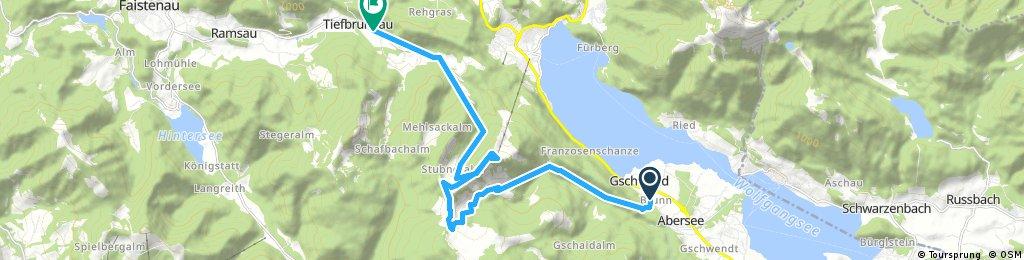 Quick ride through Faistenau
