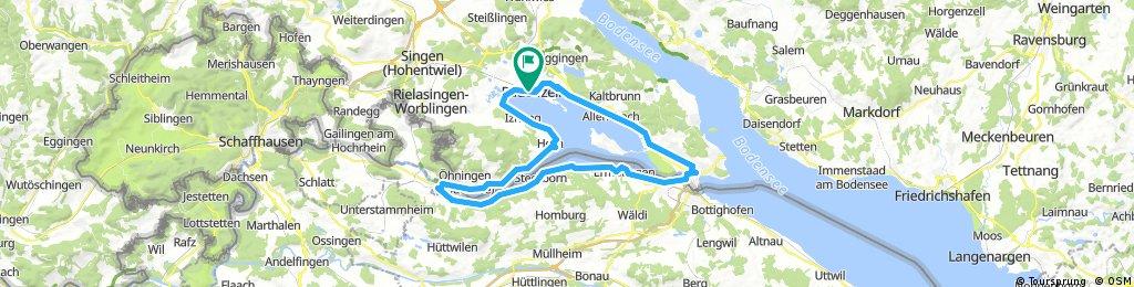 Bodensee-Radweg - Rund um den Untersee