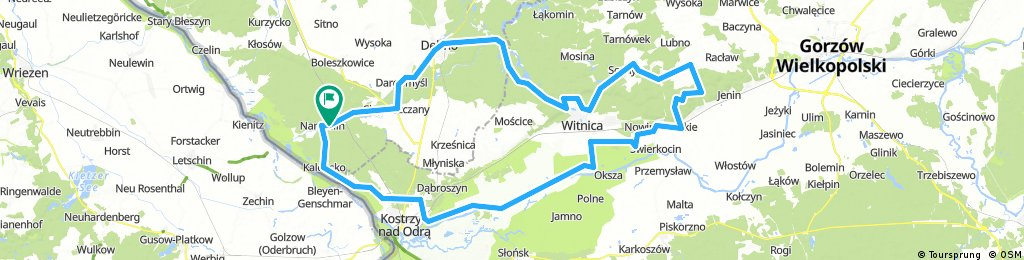 Long ride through Namyślin