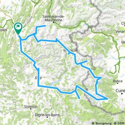 Tour des Alpes