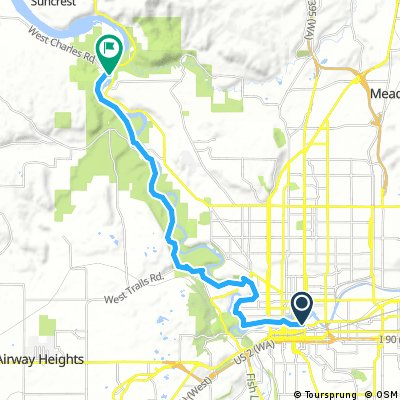 Day 1: Best Western to 9 Mile Fals and return