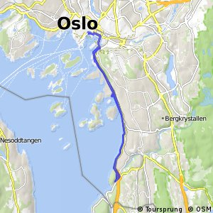 Oslo cycle routes Overview of the best routes Bikemap Your