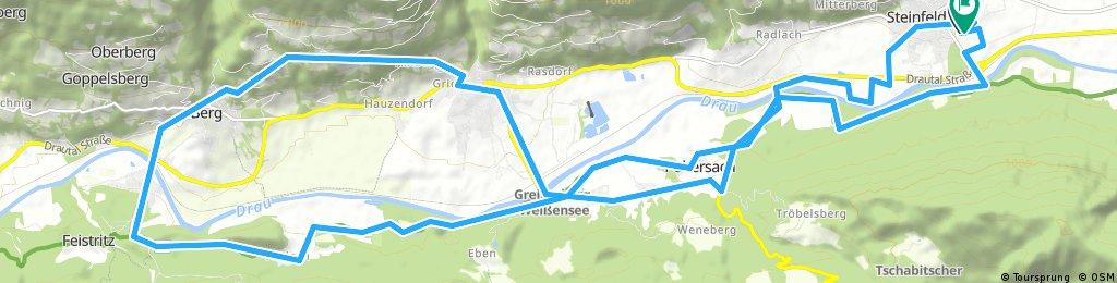 Steinfeld - Berg - Emberg - Greifenburg - Steinfeld