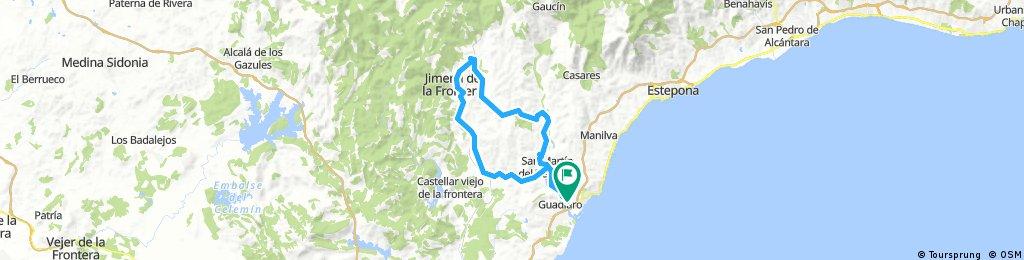 San Enrique-San Martin-San Pablo-Jimena-San Martin-San Enrique