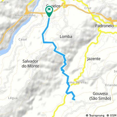 bike tour through Lomba
