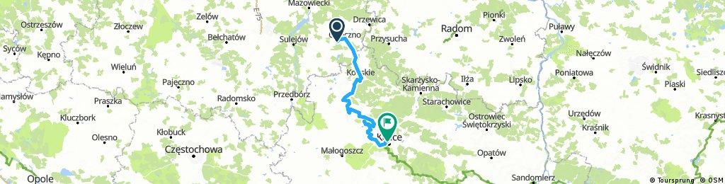 Opoczno - Kielce