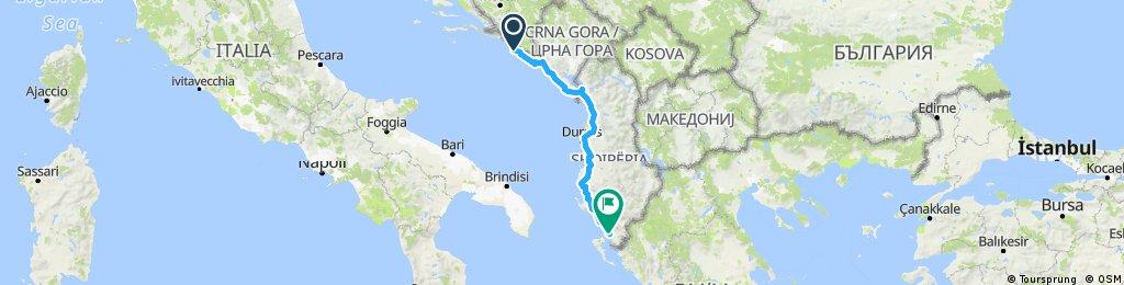 Dubrovnik - Saranda