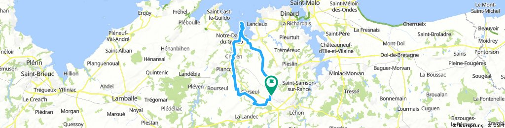 Dinan NO 51 km