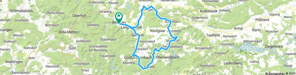 2017-08-25: Abend-Rennradtour
