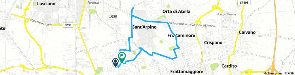 ride through Sant'Antimo