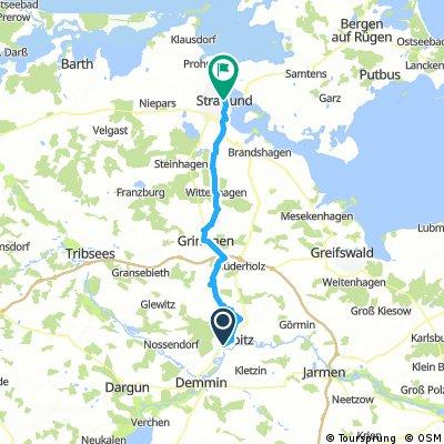 Alleentour7, Rustow-Stralsund