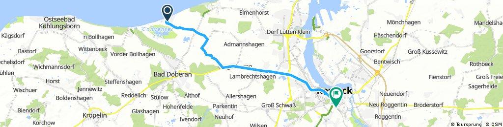 Alleentour11, Börgerende-Rostock Hbf