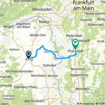 Alzey - Gernsheim - Pfungstadt