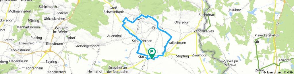 Gänserndorf-Raggendorf-Matzen-Gänserndorf