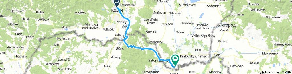 Tour de Tokaj - 1.deň