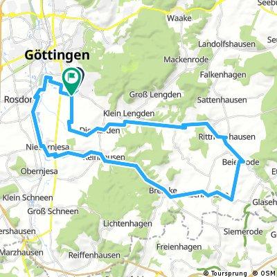 2017-08-25 Gartetal bis Beienrode über Bremke zurück nach Göttingen