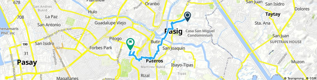 Brief bike tour through Fort Bonifacio