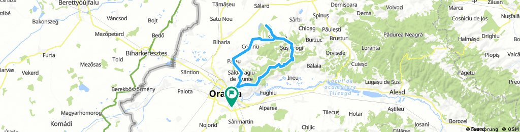 Long ride through Oradea