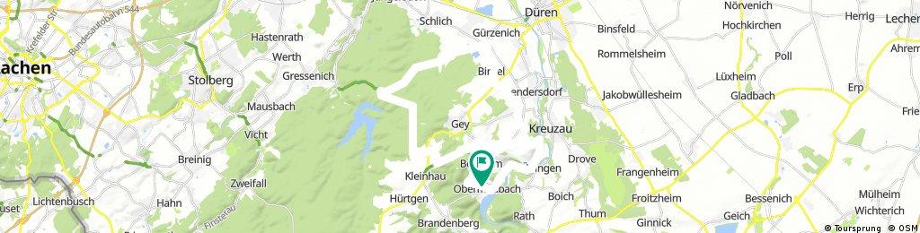 Obermaubach - Rennweg