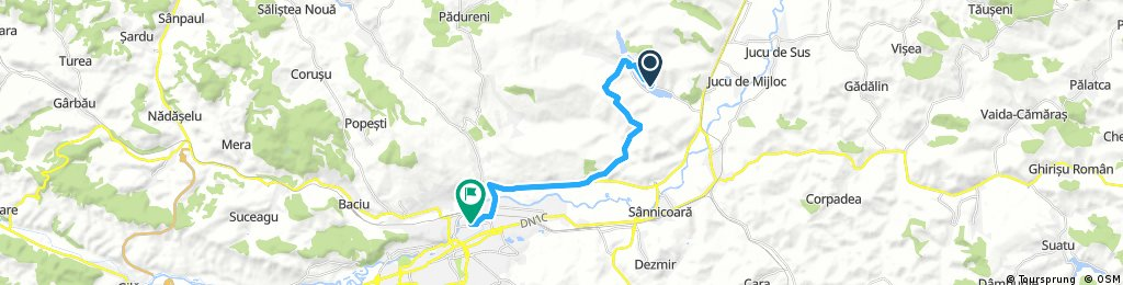 ride from (null) to Cluj-Napoca