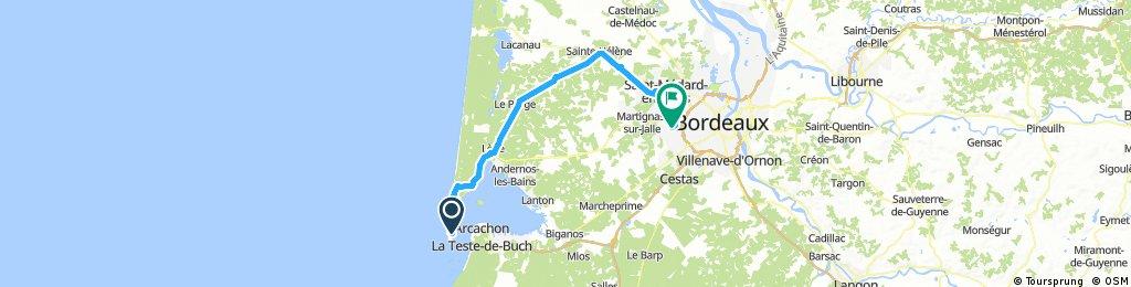 Lengthy ride through Mérignac