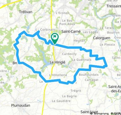 Le Hinglé S 25 Km