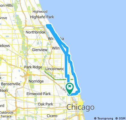 Bucktown To Snotty Highland Park And Back