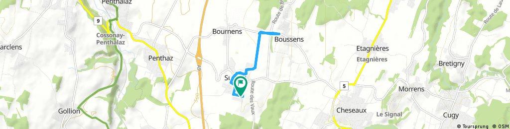 Quick ride through Sullens