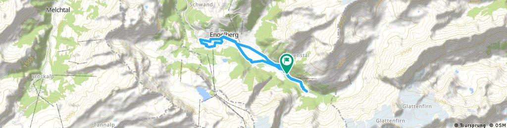 Ausfahrt durch Engelberg