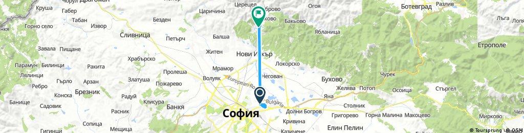 Short ride from Sofia to Vlado Trichkov